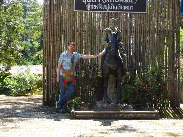 Khun Sa, sein Pferd und ich