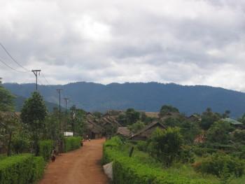 Blick von Kong Jor nach Burma