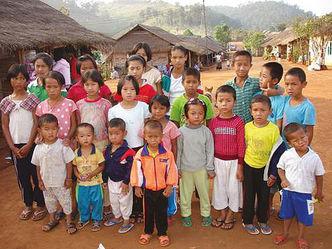 Kinder-in-Kuang-Jor Gruppenbild